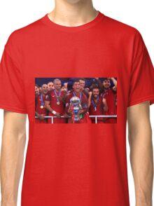 Portugal Win Euro 2016 Classic T-Shirt