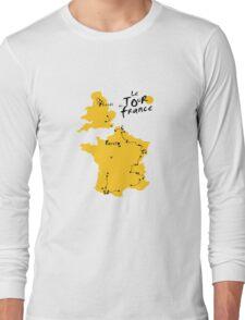 Le Tour de France 2014 Long Sleeve T-Shirt