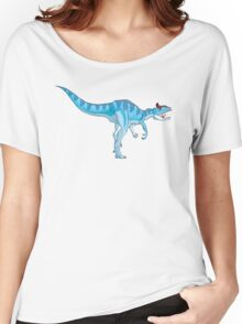 Ice Blue Cryolophosaurus Women's Relaxed Fit T-Shirt