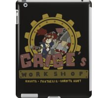Gaige's Workshop iPad Case/Skin