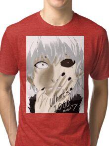 Kaneki Ken Tri-blend T-Shirt