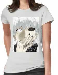 Kaneki Ken Womens Fitted T-Shirt