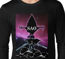 Sword Art Online Custom Design Long Sleeve T-Shirt