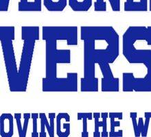 SteveJones313 University Sticker