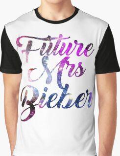 Future Mrs Bieber - Justin Bieber  Graphic T-Shirt