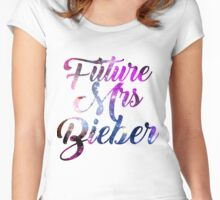 Future Mrs Bieber - Justin Bieber  Women's Fitted Scoop T-Shirt