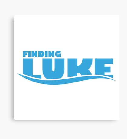 Finding Luke Canvas Print