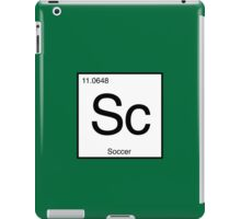Sc for Soccer Element tshirt for Soccer fans iPad Case/Skin