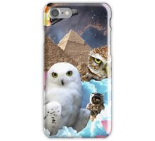 I Dream of Space Owls iPhone Case/Skin