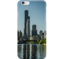 Willis Tower with reflections iPhone Case/Skin