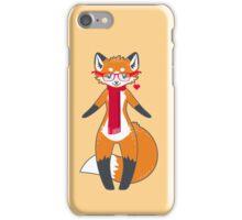 Nerdy Knitwear FOX iPhone Case/Skin