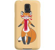 Nerdy Knitwear FOX Samsung Galaxy Case/Skin
