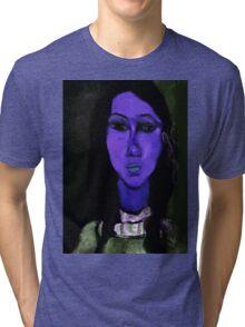 portrait of alice Tri-blend T-Shirt