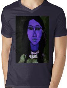 portrait of alice Mens V-Neck T-Shirt