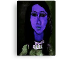 portrait of alice Canvas Print