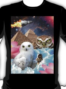 I Dream of Space Owls T-Shirt