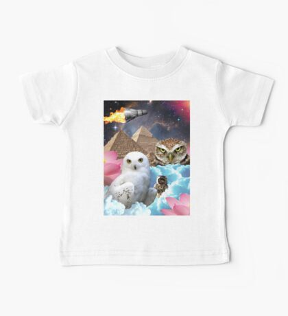 I Dream of Space Owls Baby Tee