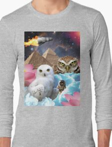 I Dream of Space Owls Long Sleeve T-Shirt