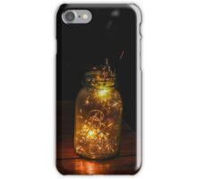 Fireworks in a Jar iPhone Case/Skin