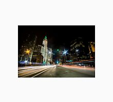 Chicago's mag mile time exposure  Unisex T-Shirt