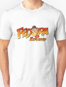 Fedora the Explorer Unisex T-Shirt