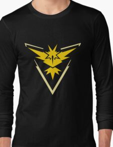 Pokemon GO - Team Instinct (Yellow) Long Sleeve T-Shirt