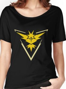 Pokemon GO - Team Instinct (Yellow) Women's Relaxed Fit T-Shirt