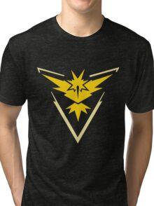 Pokemon GO - Team Instinct (Yellow) Tri-blend T-Shirt