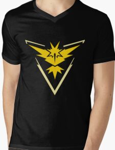 Pokemon GO - Team Instinct (Yellow) Mens V-Neck T-Shirt