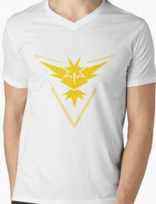 Pokemon GO - Team Instinct (Yellow) Mens V-Neck T-Shirt