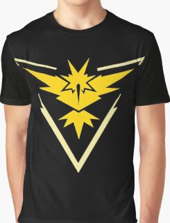 Pokemon GO - Team Instinct (Yellow) Graphic T-Shirt