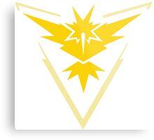 Pokemon GO - Team Instinct (Yellow) Metal Print