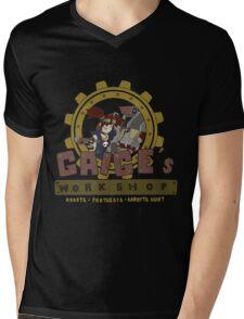 Gaige's Workshop Mens V-Neck T-Shirt