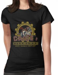 Gaige's Workshop Womens Fitted T-Shirt
