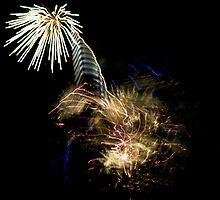 Fireworks Variation # 6 by OrPhotoJohn