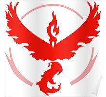 Pokemon GO - Team Valor (Red) Poster