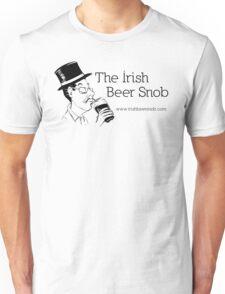Irish Beer Snob Black Unisex T-Shirt