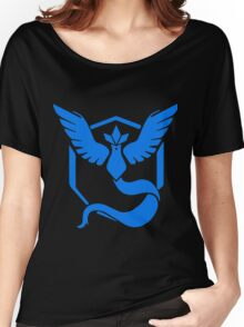 Pokemon GO - Team Mystic (Blue) Women's Relaxed Fit T-Shirt