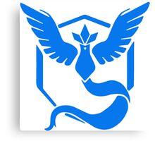 Pokemon GO - Team Mystic (Blue) Canvas Print