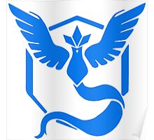 Pokemon GO - Team Mystic (Blue) Poster