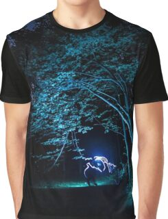 Arched tree with light paint Graphic T-Shirt