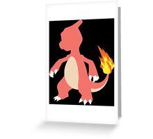 Kanto Starters - Charmeleon Greeting Card