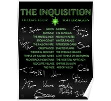 Inquisition Concert Tour Poster