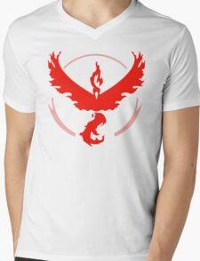 Pokemon Go Valor Shirt Mens V-Neck T-Shirt