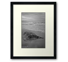 Driftwood - Good Harbor Beach Framed Print