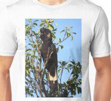 Yellow-tailed Black Cockatoo Unisex T-Shirt