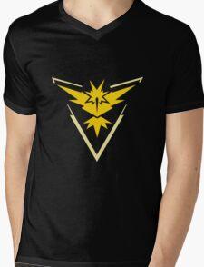 Team Instinct (Black) Mens V-Neck T-Shirt
