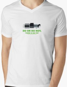 Yoda (do or do no, there is no try) Mens V-Neck T-Shirt