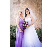 Tucker Wedding - Maid of Honor Photographic Print