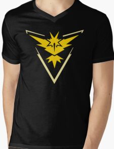 Pokemon Go Instinct Shirt Mens V-Neck T-Shirt